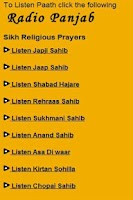 Screenshot of Sikhs Religious prayers