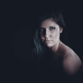 Fine Art Beauty by Daniel Craig Johnson - People Portraits of Women ( model, female, women, light, portrait,  )