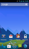 Screenshot of GoogleNowWallpaper HD