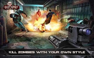 Screenshot of DEAD TARGET: Zombie