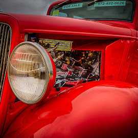 Little Red by Ron Meyers - Transportation Automobiles