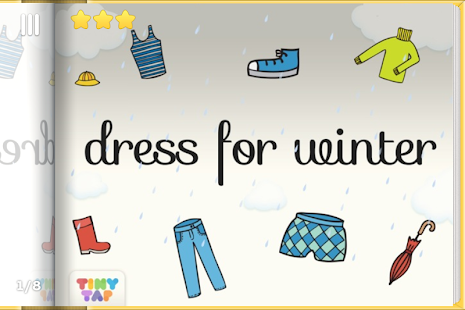 Wintertime Fun- Dress Up Game - screenshot