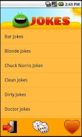 Screenshot of The Jokes (Ad Free)