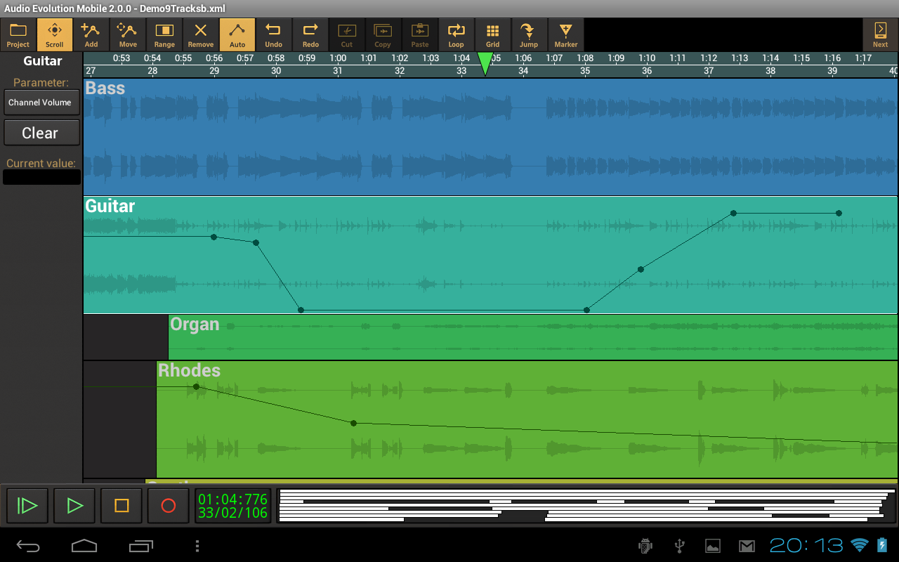 Audio Evolution Mobile Studio Screenshot 10