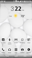 Screenshot of LGHome/Multi Launcher BW Theme