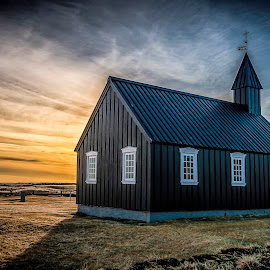 Lil Black Chruch by Paul Haines - Buildings & Architecture Places of Worship