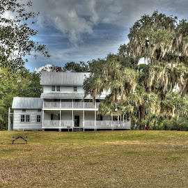 Blue Springs Orchard House by Jim Zabroski - Digital Art Places ( state park florida orchard house )