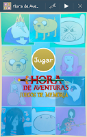 Screenshot of Memoria Hora de Aventuras