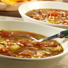 Swanson® Roasted Tomato and Barley Soup