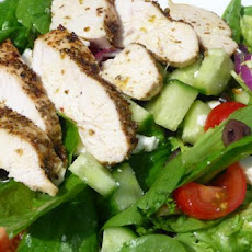 Baked Greek Chicken Salad