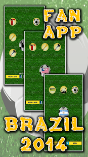 Football Fan App - Brazil 2014 - screenshot