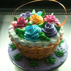 Basket Cake by Kishley Khurana - Food & Drink Cooking & Baking