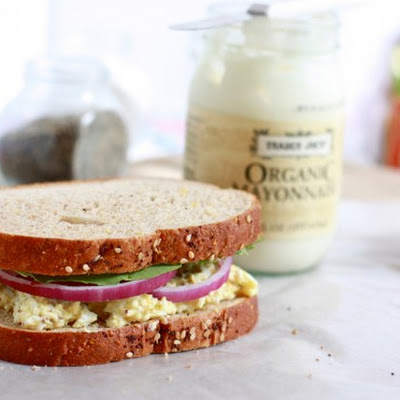 Simple Egg Salad Sandwiches