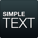 Simple Text-Text Icon Creator icon