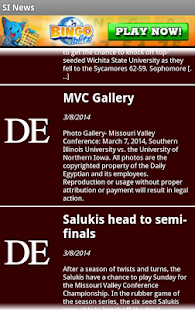 SIUC News - screenshot
