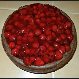 Decadent Chocolate Cherry Cheesecake Recipe For Valentine's Day