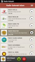 Screenshot of Radio Dakwah Islam