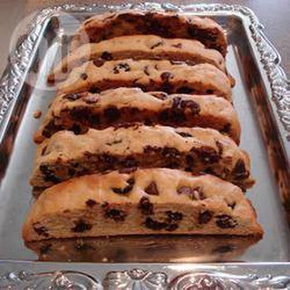 Chocolate Mandel Bread