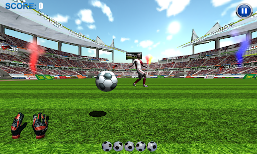 GOALKEEPER FOOTBALL XZ - screenshot