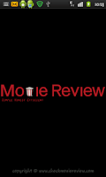 Screenshot of Movie Reviews