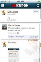 Screenshot of DRKUPON