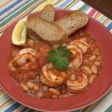 Easiest Shrimp Cassoulet