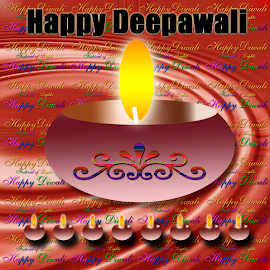 Happy Diwali - Festival of lights by Dipali S - Typography Words ( indian culture, creation, bright, illustrations and vector art, matchstick, illustration, holidays and celebrations, heat, hinduism, flame, traditional culture, candle, lantern, asia, india, shiny, abstract, f, font, wallpaper, backgrounds, christmas, fire, print, diwali, red, pattern, concepts and ideas, lamp, artistic, alphabet, celebration, glowing, typography, english, design )