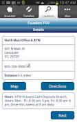 Screenshot of Founders FCU - Mobile Banking