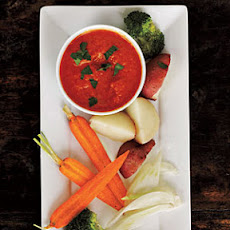 Roasted Red Pepper Bagna Cauda