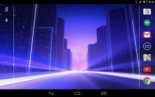 Twilight Speed Live Wallpaper - screenshot