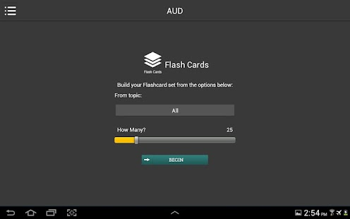 CPA Flashcards Review - screenshot
