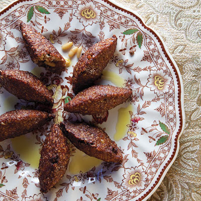 Kibbeh (Lamb and Bulgur Wheat Croquettes)
