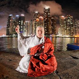 Zen and the city by Simon Bond - People Portraits of Men