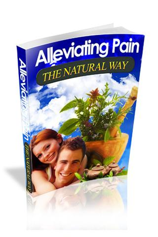 Alleviating Pain Natural Way