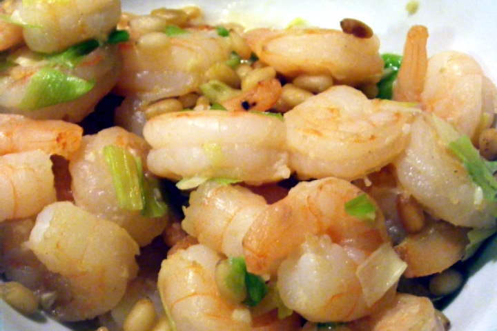 Sauteed Shrimp with Lemon-Garlic Butter Recipe | Yummly