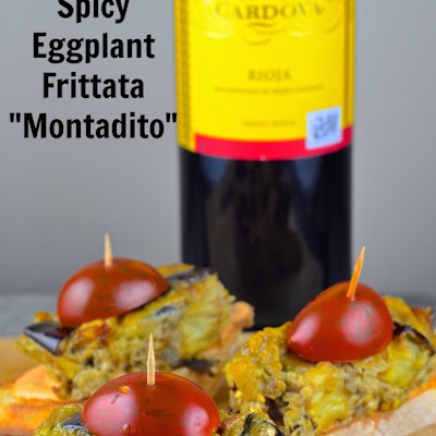 A Match Made in Heaven — Spicy Eggplant Montadito with Rioja Wine