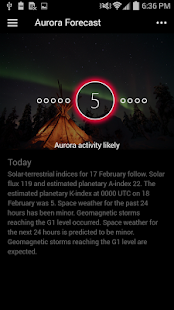 Space Weather App screenshot for Android