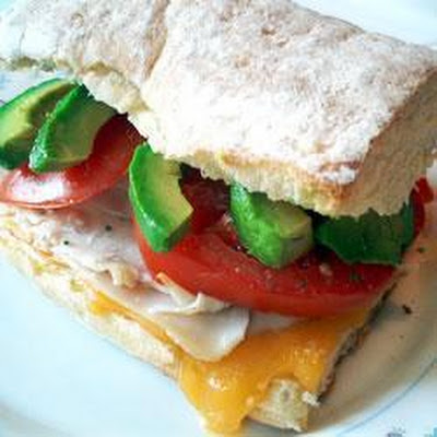 Turkey and Avocado Sandwich
