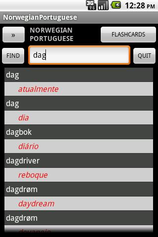 Norwegian Portuguese Dict