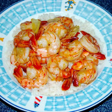 Honey Ginger Shrimp