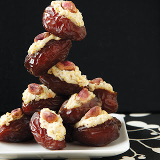 Stuffed Dates with Ricotta