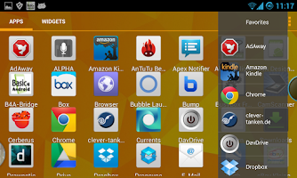 Screenshot of Bubble Launcher XDA (FREE)