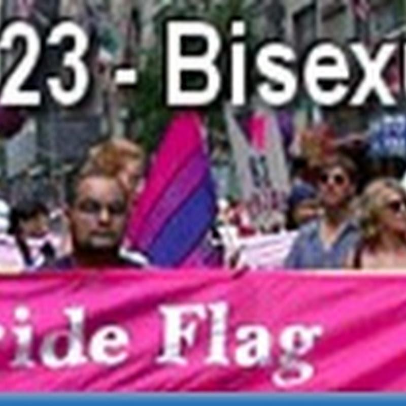 Día de la Celebración de la Bisexualidad