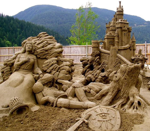 Skulpture napravljene od pjeska  2495594496_fd0eba260b_b