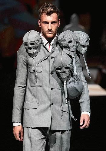 Fashion Skull suit