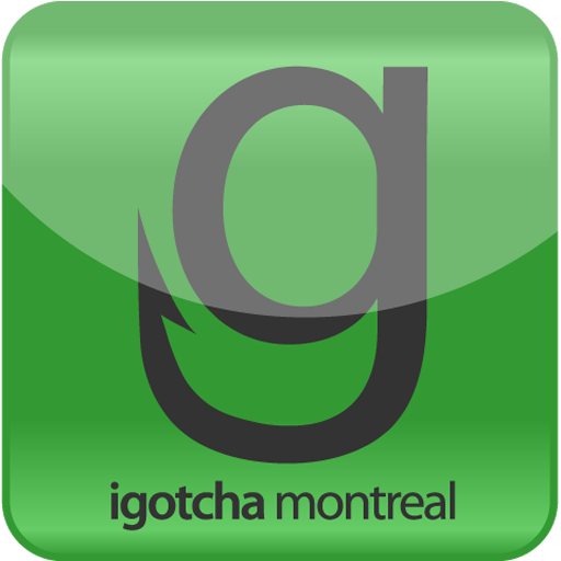 iGotchaMtl LOGO-APP點子