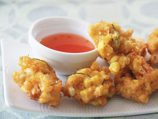 Thai Corn Fritters (Tod Man Khao Pod)