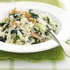 Smoked Mackerel Risotto