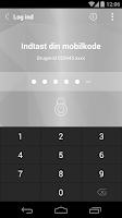 Screenshot of Sparekassen Sjælland Mobilbank