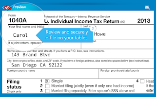 Screenshot of TurboTax SnapTax